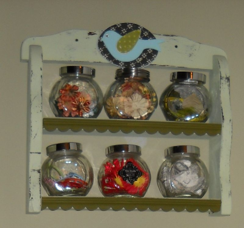 Bird Spice Rack