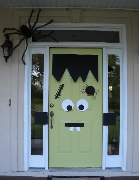 Frankenstein Door Pinterest Ghosts Frankenstein Doors