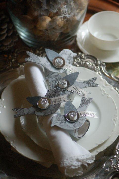 Silvered Bird Decor 3