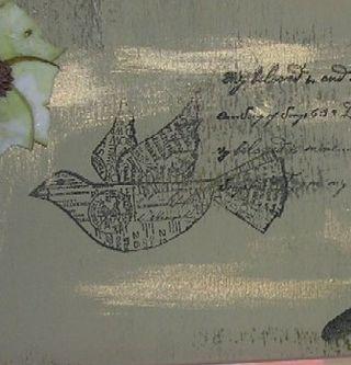 Stamped bird
