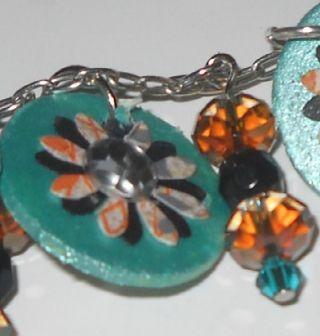 Copper set close up