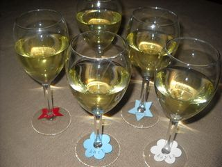 Wine glass tags 1