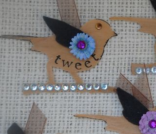 Embellished Veneer birds 1