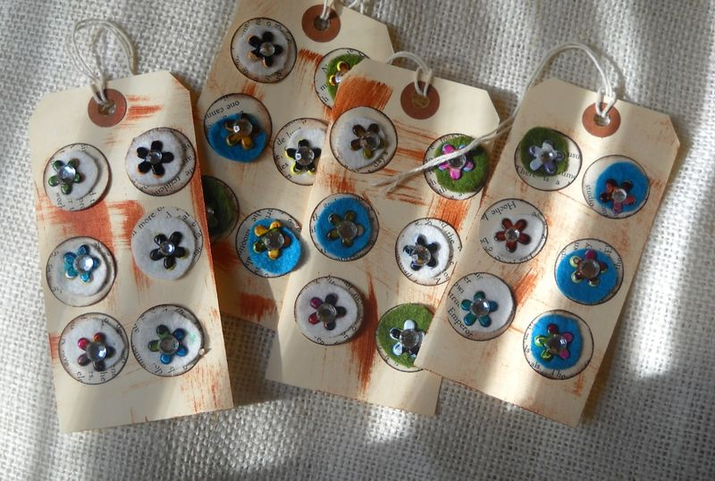 Embellished tags