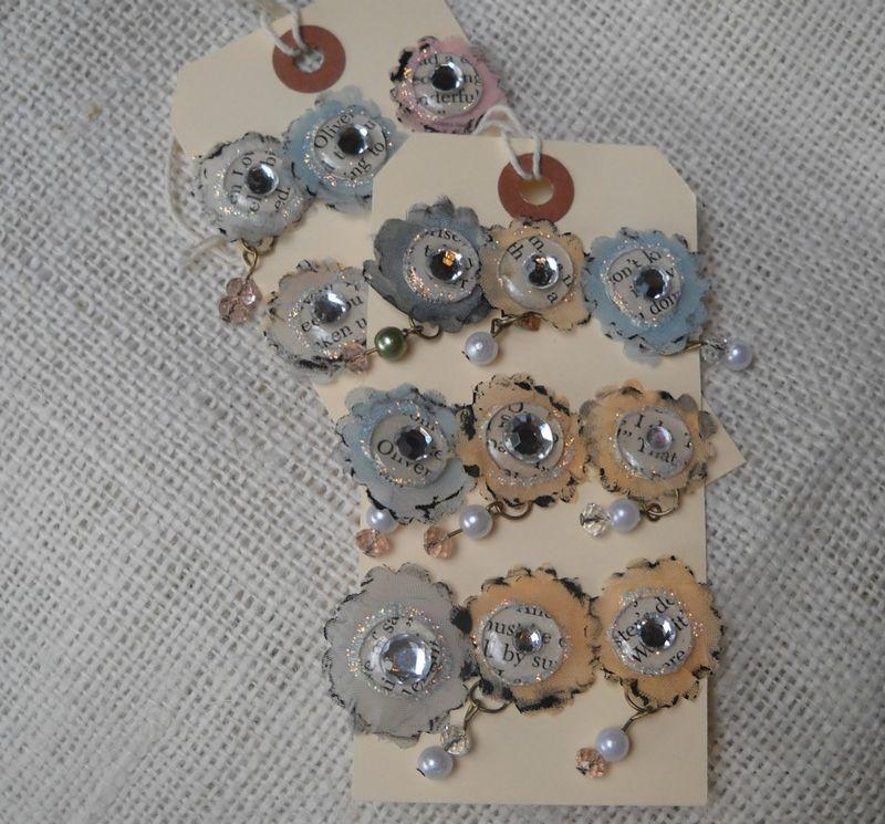 Altered flower brads