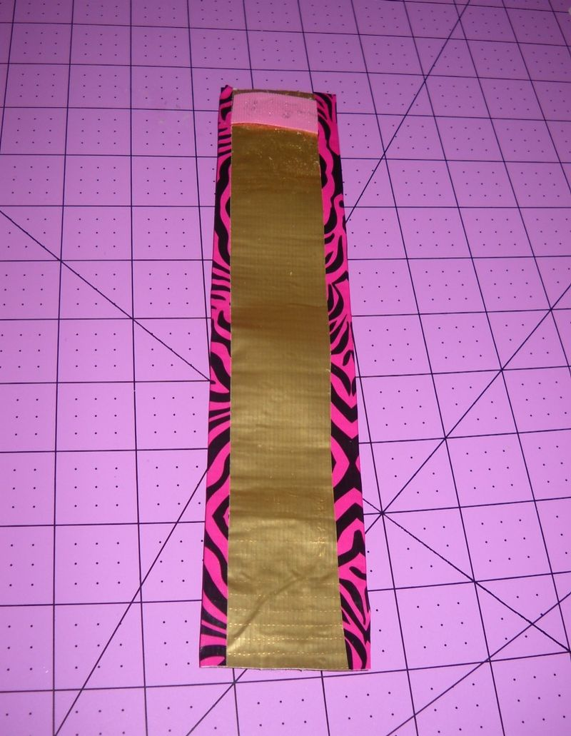 Line cuff with tape