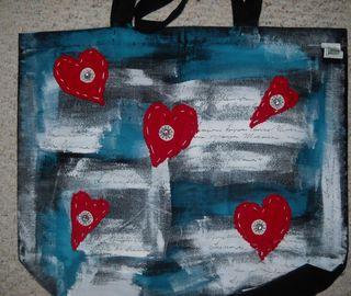 Hearts Tote
