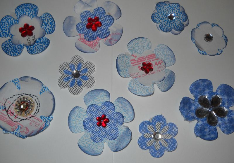 Embellished flowers