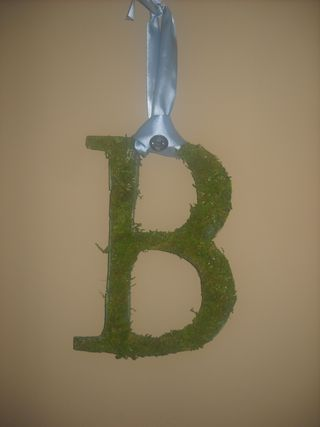 Moss Covered Monogram