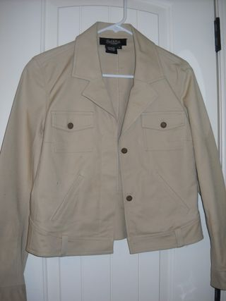 Jacket before