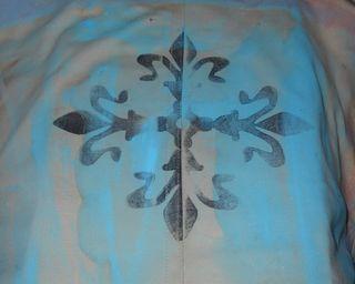Stamped motif