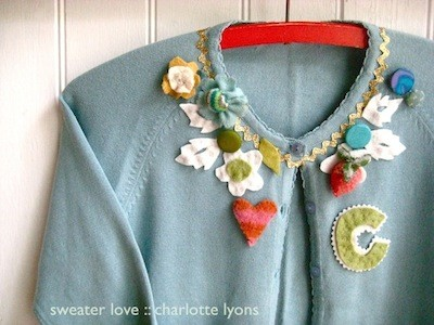 Charlotte lyons sweater