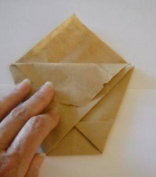 Origami folded bag 3