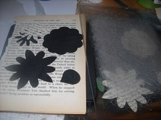 Die cut book page