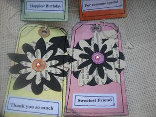 Shabby chic tags 3