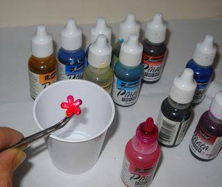 Inking brads