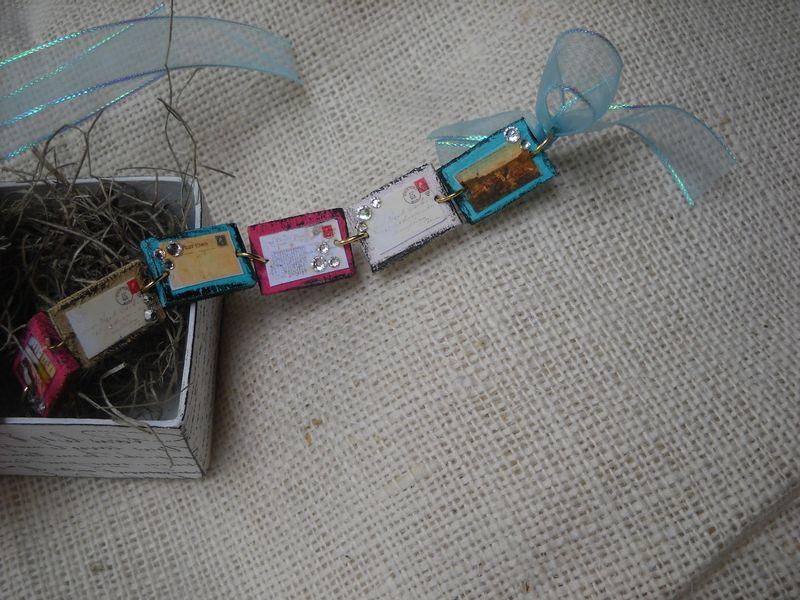 Post Card  Charm Bracelet 2