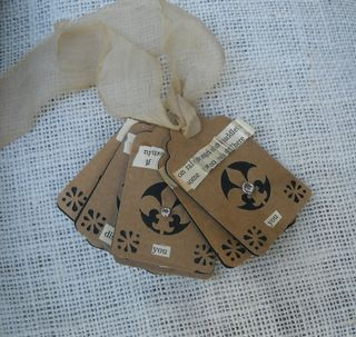 Brown paper tags 1