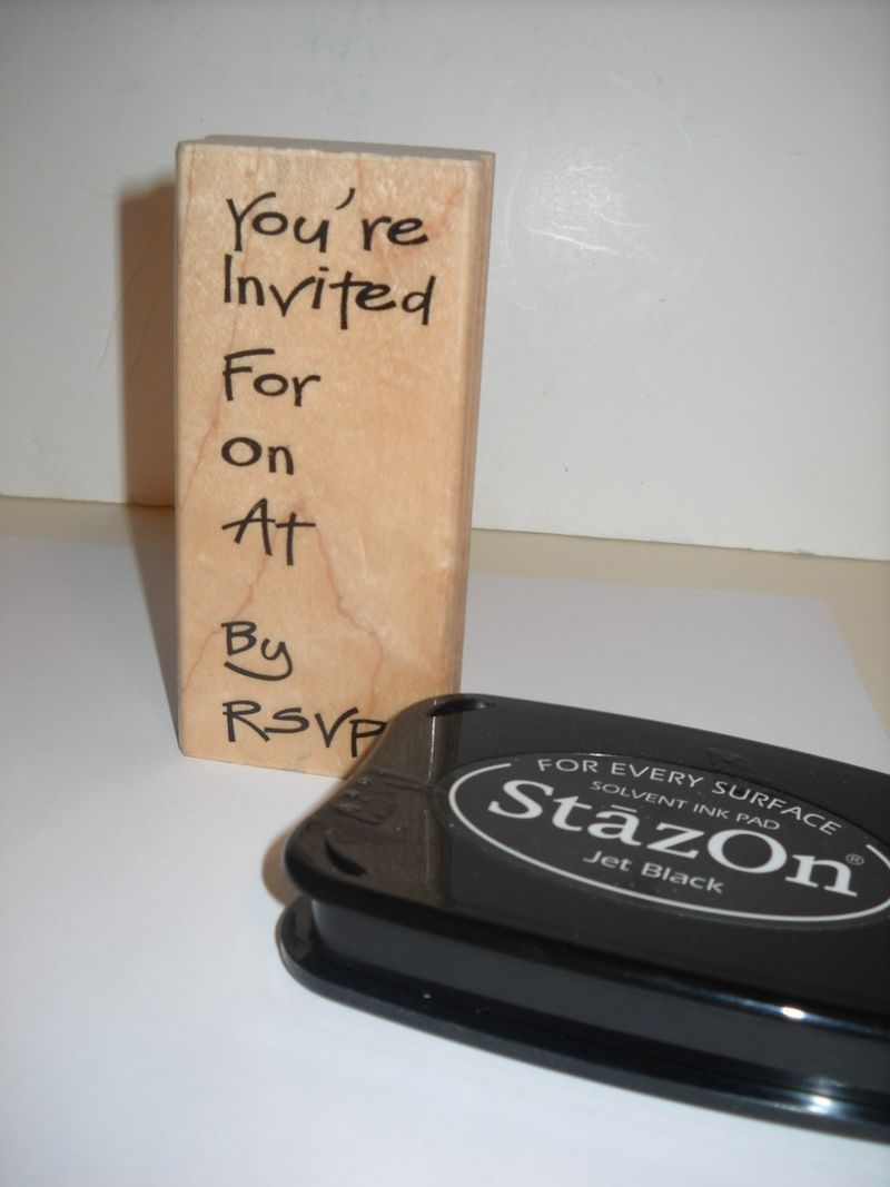 Invite stamp