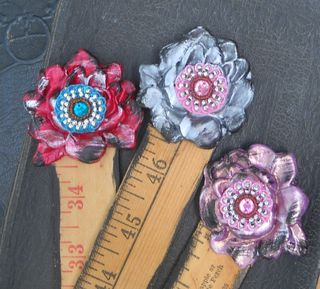 Vintage Ruler Bookmarks 2