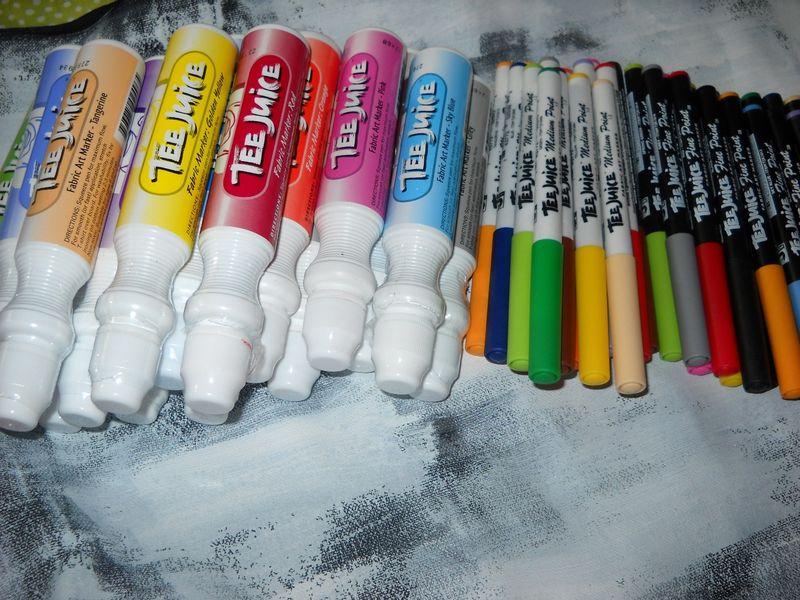 Tee juice markers
