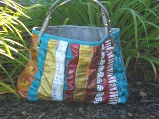 Painted handbag 1