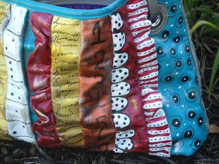 Painted handbag 2