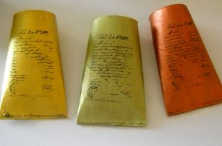 Stamped tubes