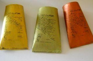 Stamped tubes