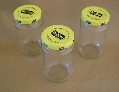 Recycle d pickle jars