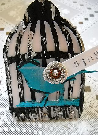 Bird cage napkin rings 2