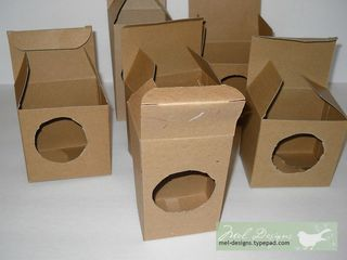 Boxes with openings