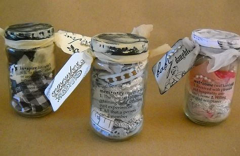 Jars with tags