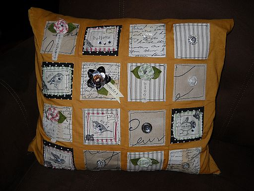 Mosaic pillow 1
