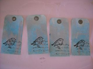 Hand dyed tags 004