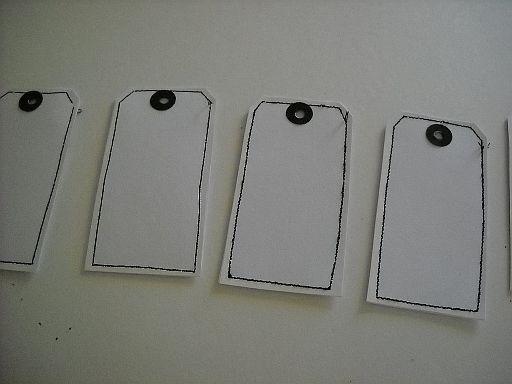 Sewn tags