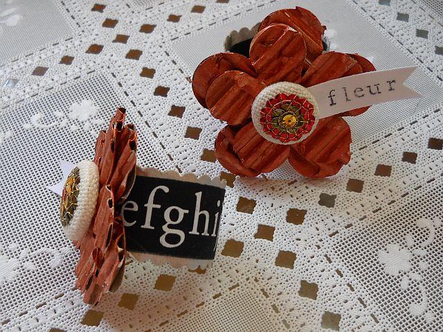 Fleur napkin rings 2