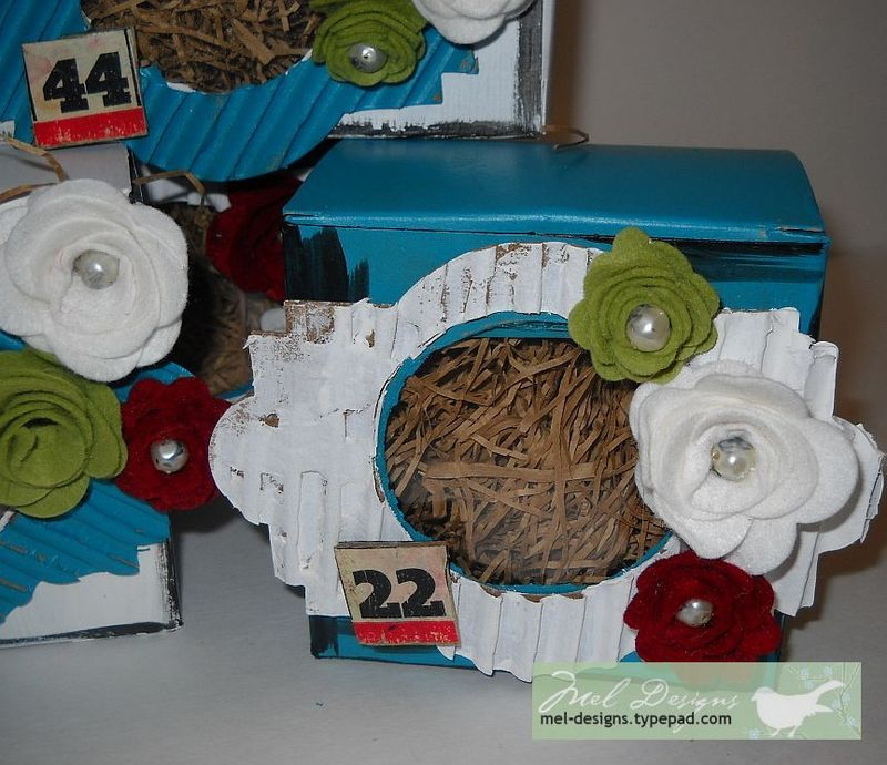 Completed box 3