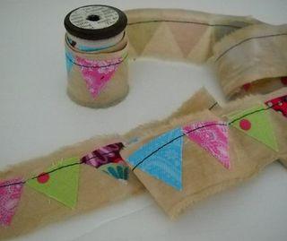 Bunting ribbon