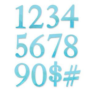 Serif essentials numbers