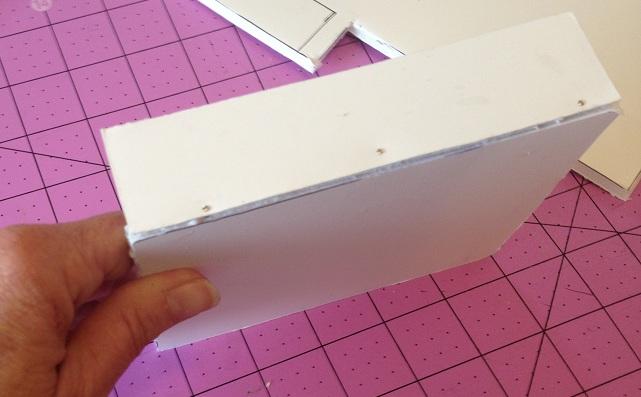 Construct foam board box