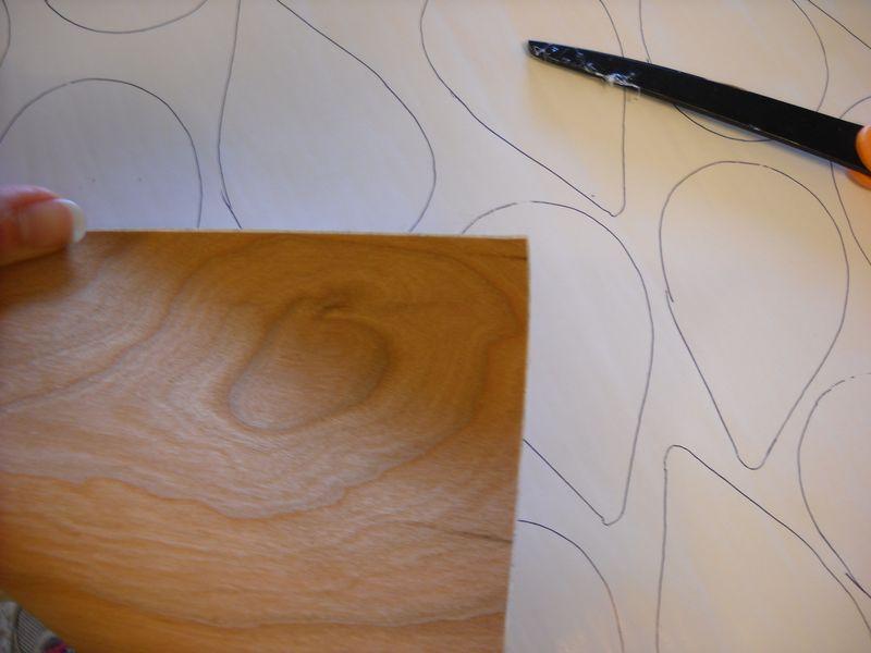 Tracing veneer wings