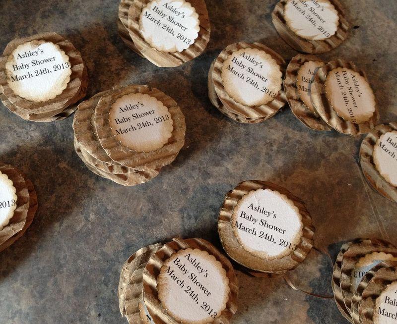 Corrugated labels