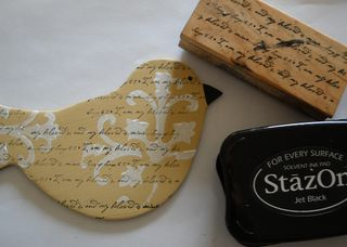 Stamp bird script