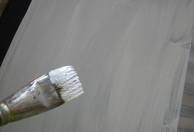 Paint cover white