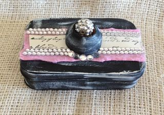 Embellished Amrour Box
