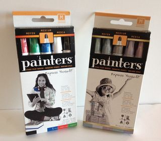 Painters pens in package