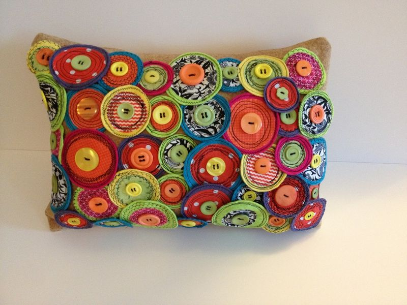 Completed pillow 1