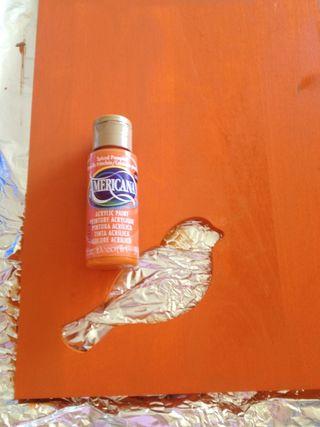 Spiced Pumpkin painted plaque
