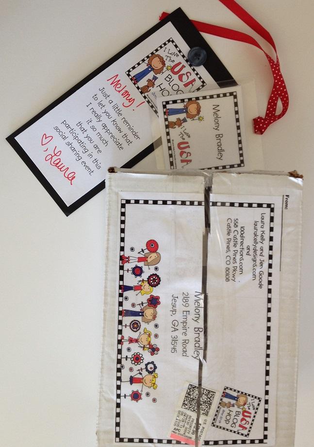 Blog hop packaging materials 1